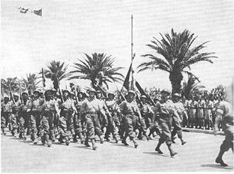 Sfilata degli Alleati a Tunisi nel maggio del 1943