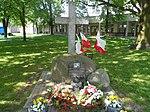 Lech and Maria Kaczyński memorial in Niepokalanów 01.jpg