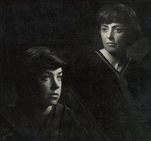 María Elena Walsh - María Elena Walsh and Leda Valladares, 1960.