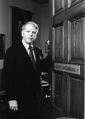 Lee Robinson (politician) - Image: Lee Robinson Mayor