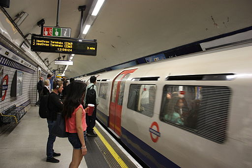 Leicester Square tube station London 7963