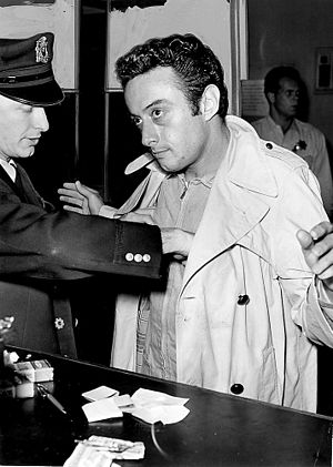 Lenny (film) - The real Lenny Bruce arrested in 1961