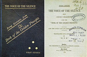 Theosophy - The book The Voice of the Silence presented by Blavatsky to Leo Tolstoy