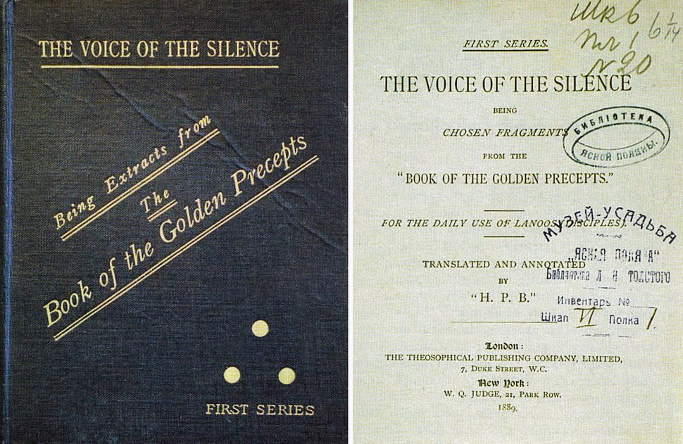 Leo Tolstoy The Voice of the Silence