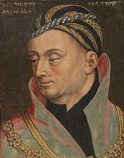 Leopold IV, Duke of Austria Duke of Further Austria