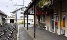 Les Ponts-de-Martel train station
