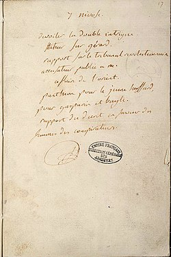 robespierre execution research French revolution case study – page 1  maximillian robespierre –  the  punishment of death, therefore, is not a right, but it is the war of.