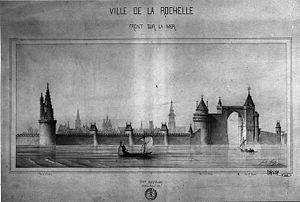 Les tours de La Rochelle vues par Juste Lisch 001.jpg