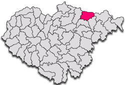 Commune Letca in Sălaj County