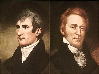 Timeline of the American Old West - Meriwether Lewis and William Clark
