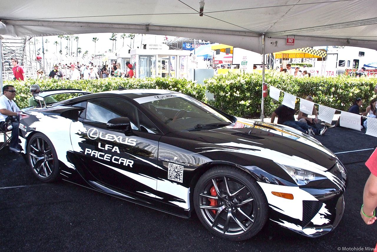 file lexus lfa long beach grand prix official pace wikimedia commons. Black Bedroom Furniture Sets. Home Design Ideas