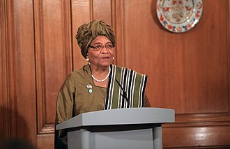 Women in warfare and the military (2000–present) - Liberian President Ellen Johnson Sirleaf