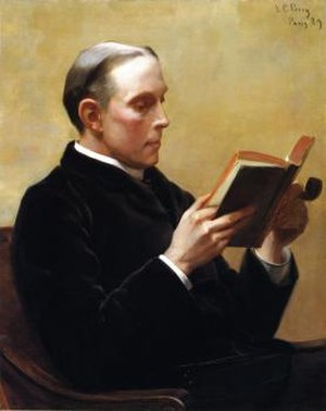 Thomas Sergeant Perry - Portrait by Lilla Cabot Perry, 1889