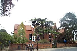 South Parks Road - Linacre College from the corner of South Parks Road and St Cross Road.