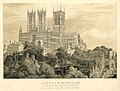 Lincoln Minster. - South West View from County Hospital (BM 1898,0201.1).jpg