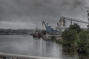 Vista do Rio Demerara