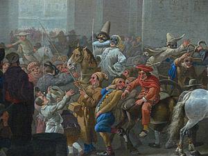 Carnival - Carnival in Rome circa 1650