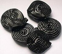 Haribo's liquorice wheels