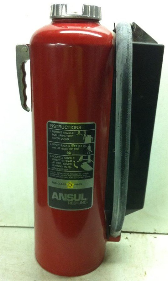 Lith-X Fire Extinguisher
