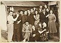 Lithuanian political prisoners (deportees) in Magadan, Russia, 1956 (2).jpg