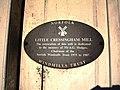 Little Cressingham Mill - restoration plaque - geograph.org.uk - 283112.jpg