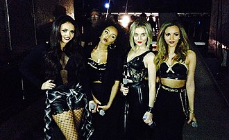 Little Mix - Little Mix in February 2014.