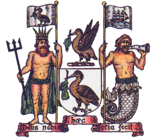 The coat of arms of Liverpool City Council