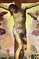 Livio agresti, crocifissione con due angeli, 1550-60 ca., da s. francesco grande a forlì 03.jpg