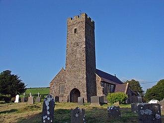 Llangyndeyrn - Sy Cyndeyrnin the 's parish church