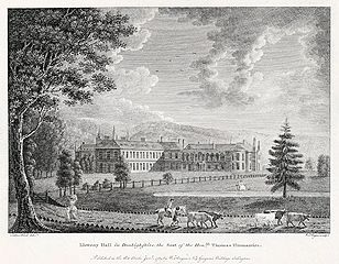 Lleweny Hall in Denbighshire: the seat of the honble Thomas Fitzmaurice
