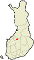 Location of Kinnula in Finland.png