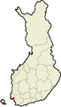 Location of Nousiainen in Finland.png