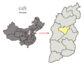 Location of Taiyuan Prefecture within Shanxi (China).png