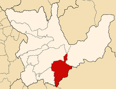 Location of the province Pachitea in Huánuco.png