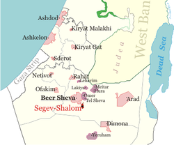 Location segev shalom