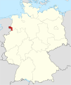 Locator map NOH in Germany.svg