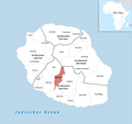 Locator map of Entre-Deux 2018.png