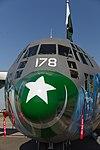 Lockheed C-130E Happy Hercules 5D3 4130 (41982552970).jpg
