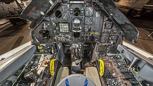 Lockheed F-117 Nighthawk - Cockpit