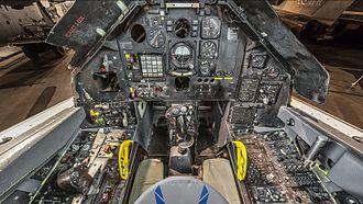 Lockheed F-117 Nighthawk - Cockpit