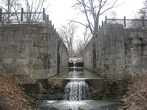 Side Cut Metropark - Image: Locks Four and Three, Miami Sidecut