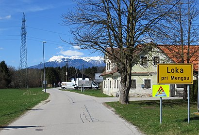 How to get to Loka pri Mengšu with public transit - About the place