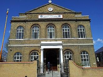 Gurdwara Sahib Woolwich - Main hall from the south
