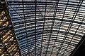 London - St Pancras International Rail - Single Roof Span 1868 by William Henry Barlow & Rowland Mason Ordish - View Up & SSE II.jpg