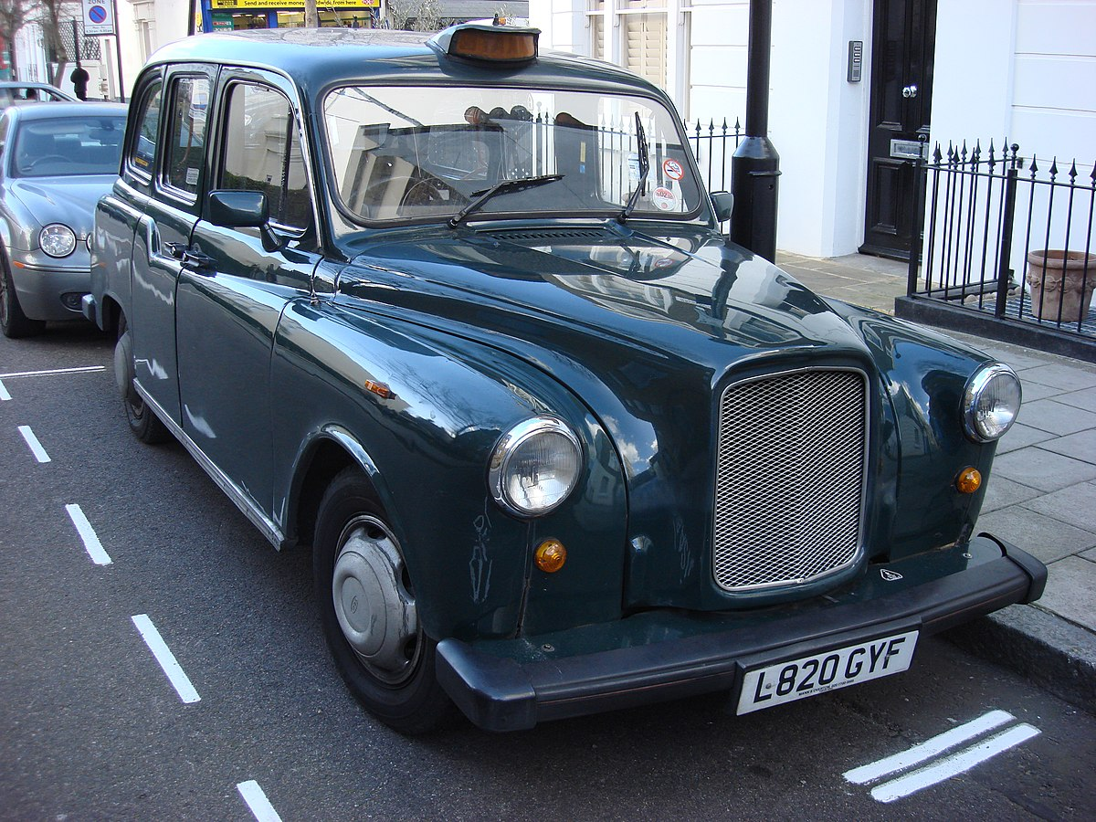 how to take a taxi in london
