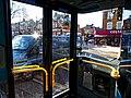 London W4 bus interior, Broad Lane, Tottenham 3.jpg