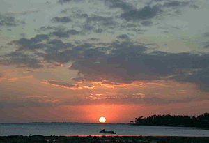 Long Key - Sunset from Long Key State Park campground