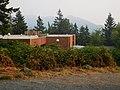 Looking toward Chuckanut Mountains from WWU campus. (36246117521).jpg