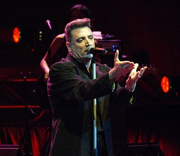 English: The spanish singer Loquillo in a Conc...