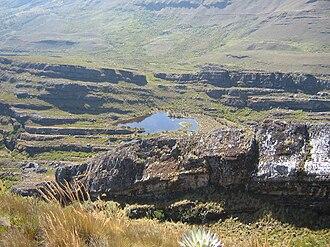 Pisba - Lake in Páramo de Pisba
